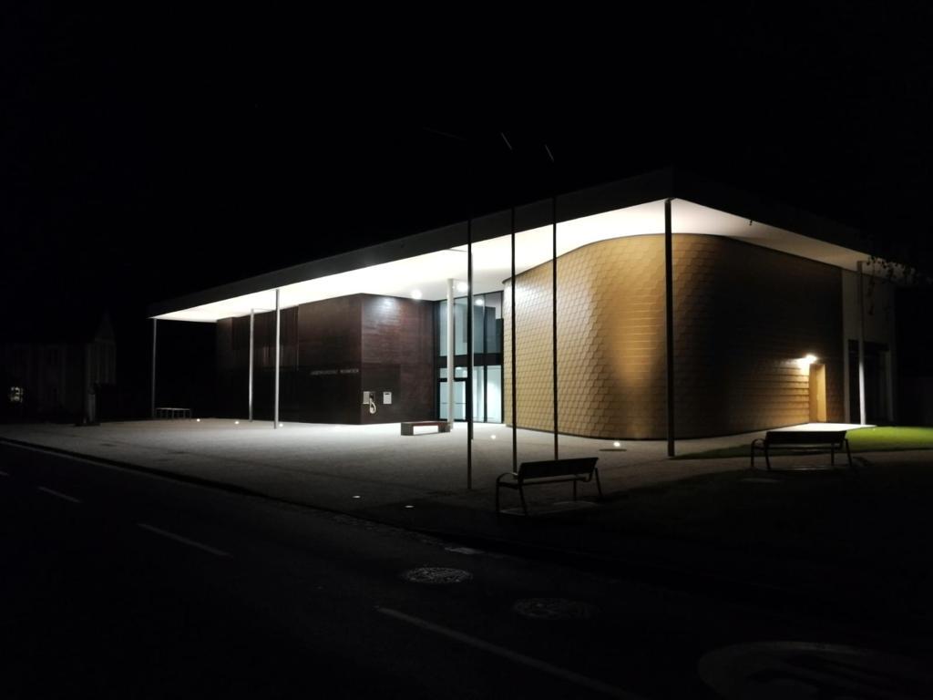 Erste Probe im neuen Musikheim – Musikverein Buchkirchen